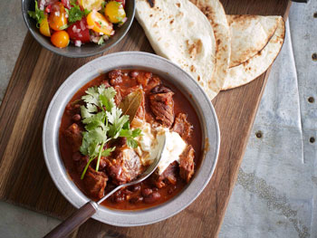Spicy Black Bean and Smoked Paprika Braised Chuck