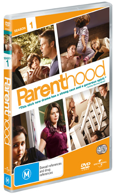 Parenthood Season 1 DVDs
