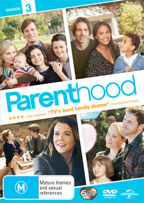 Parenthood Season 3 DVD