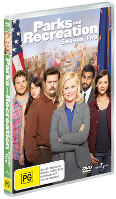 Parks and Recreation Season 2 DVD