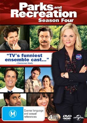Parks and Recreation Season 4 DVDs