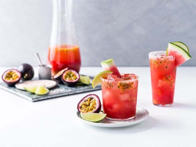 Passionfruit and Watermelon Margarita