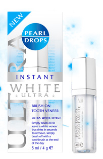 Pearl Drops Instant Ultra White & Hollywood nights Whitening Wand