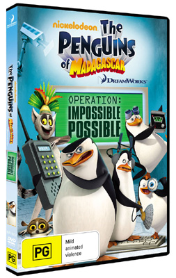 Penguins of Madagascar: Operation Impossible Possible DVDs