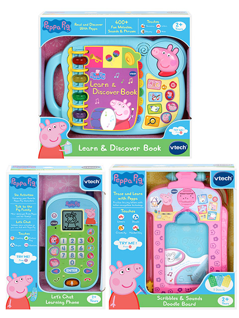 Win Peppa Pig Vtech Packs
