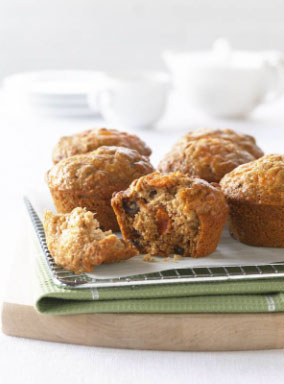 Low Fat Persimmon Muffins