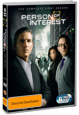 Person of Interest: The Complete First Season DVD