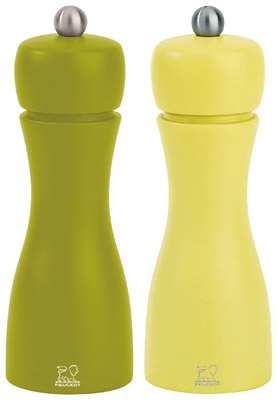 Peugeot Tahiti Spring Salt and Pepper Mill Duo