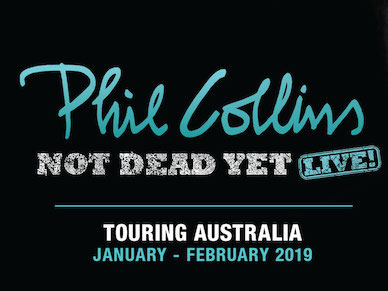 Phil Collins 2019 Not Dead Yet: Live!