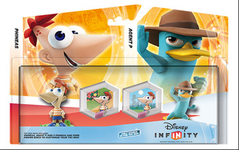 Phineas and Agent P and Wave 3 Power Discs