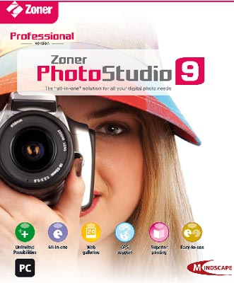 Zoner PhotoStudio 9 Professional