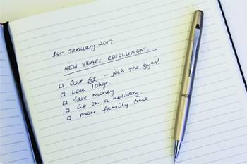 Survey Reveals Why New Year's Resolutions Set To Fail