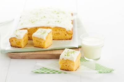 Pineapple and Lime Slice