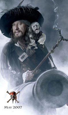 Geoffrey Rush Pirates of the Caribbean At World's End Interview