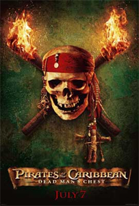 Johnny Depp, Pirates of the Caribbean: Dead Man's Chest Interview