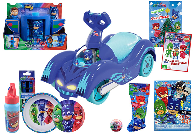 PJ Mask Christmas Pack