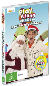 Play Along with Sam – Sam's Family Christmas DVDs