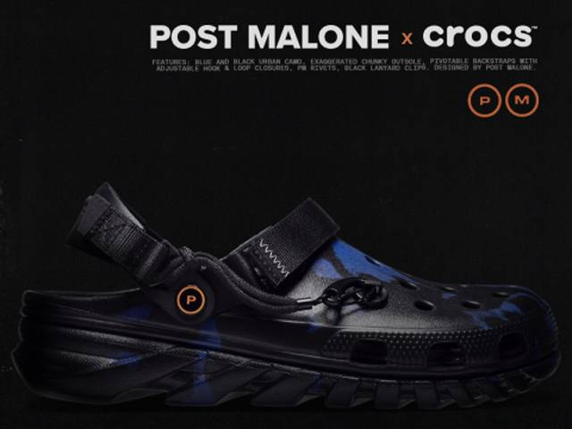 Post Malone and Crocs Launch Fourth Collaboration