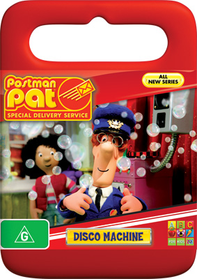 Postman Pat Special Delivery Service Disco Machine