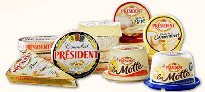 Président Cheese and Butter