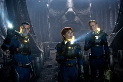 Ridley Scott Prometheus 3D