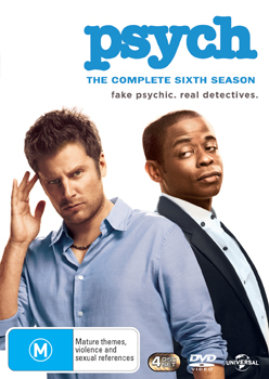 Psych: The Complete Sixth Season DVD