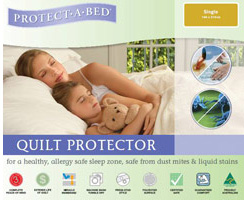 Stainsafe & Smooth Quilt Protector