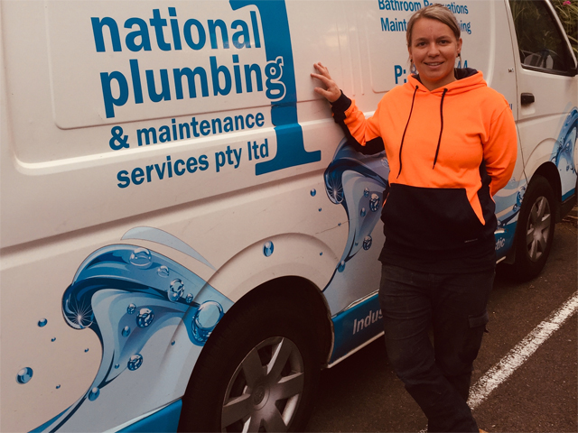 Reannon McCann 2019 Rheem Apprentice Plumber Grants Interview