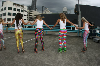 Red Bull Music Academy Rooftop Roller Disco