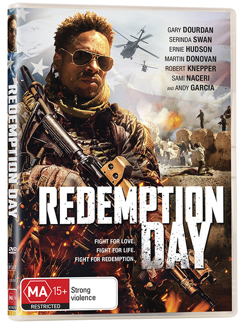 Win Redemption Day DVDs