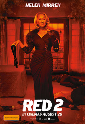 Bruce Willis and Helen Mirren Red 2