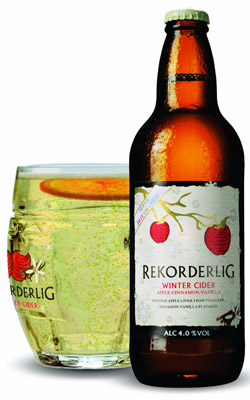 The Rekorderlig Cider Winter Forest Pop Up Bar