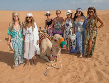 Gina Liano, Janet Roach and Chyka Keebaugh Real Housewives of Melbourne Head to Dubai Interview