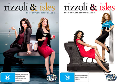 Rizzoli and Isles The Complete First and Second Season DVD