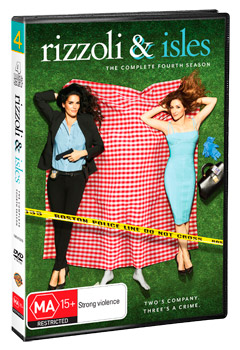 Rizzoli & Isles The Complete Fourth Season DVD
