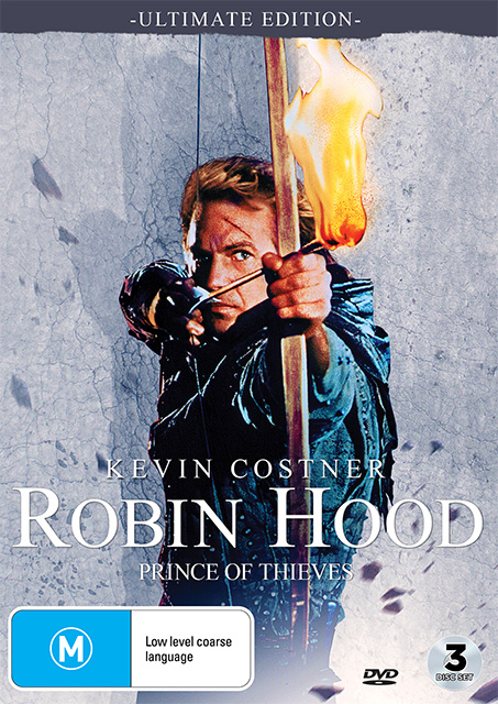 Robin Hood: Prince of Thieves BluRays