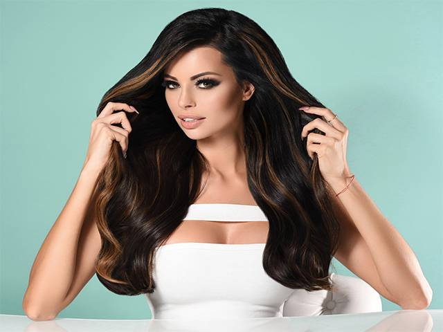 Pure Diamonds Clip-in Hair Extensions