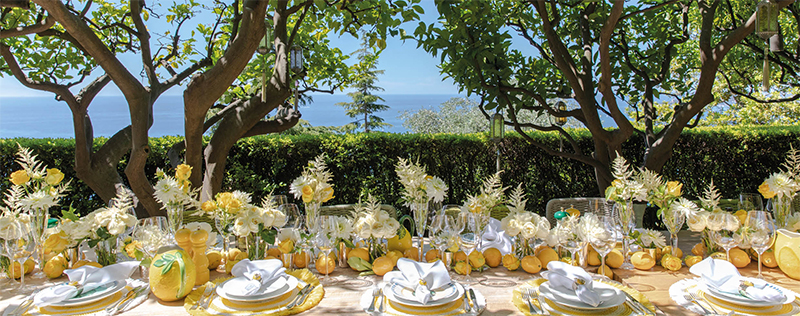 Sabrina Monte-Carlo Table Styling