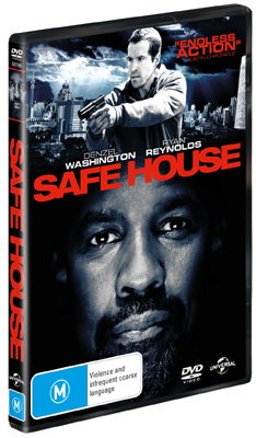 Denzel Washington Safe House DVD