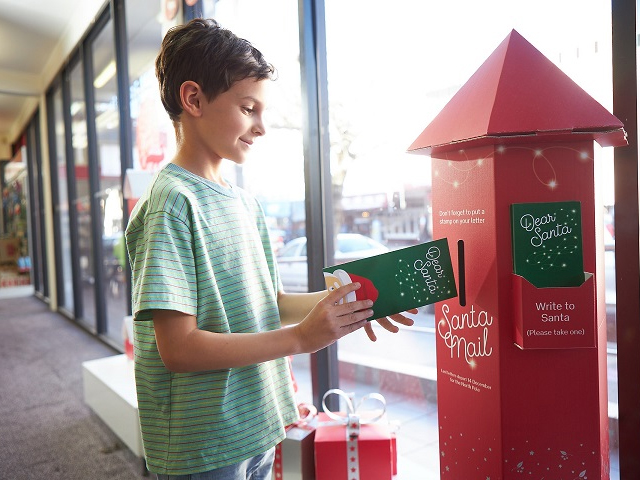 Time to get Santa Mail to the North Pole
