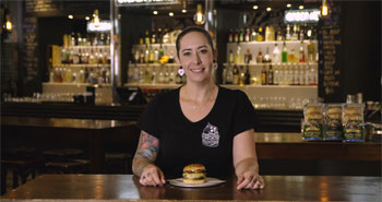 Sarah Robbins Mouth-Watering Burgers Interview