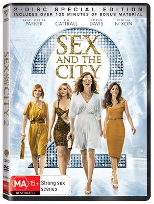 When is sex and the city movie out on dvd