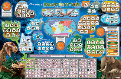 Scanopedia Discovery Channel Smart Animals learning