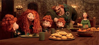 Scotland's Iconic Landscapes Feature in Brave