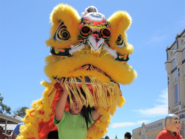 Sovereign Hill's Chinese New Year Celebrations