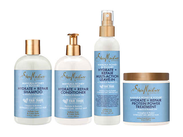 SheaMoisture Hydrate + Repair Collection