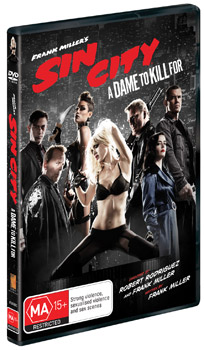 Sin City: A Dame To Kill For DVD