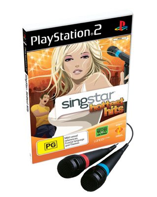 SingStar Hottest Hits on PlayStation 2