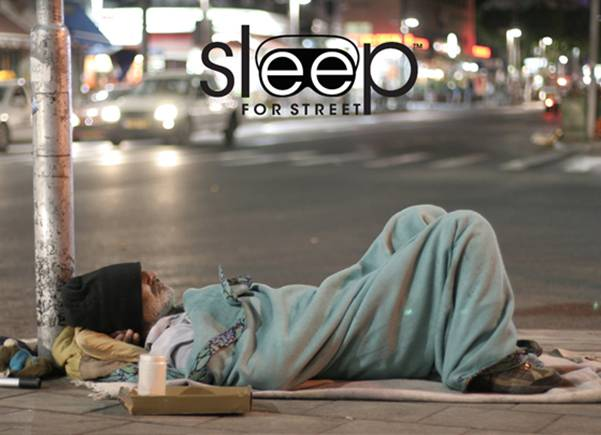 Sleep for Street campaign