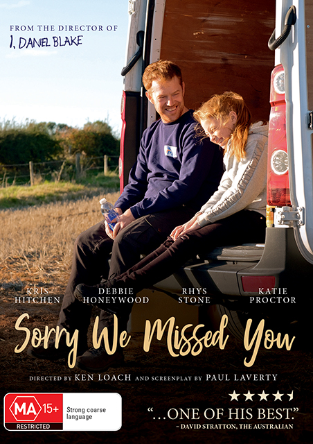 Win Sorry We Missed You DVDs